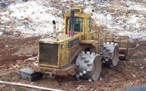 Equipment for Housse compactor